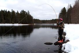 Kalastuksen riemua